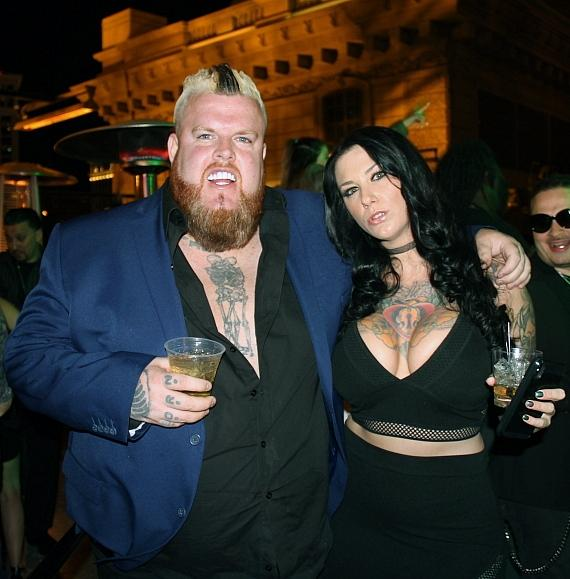 Mike Busey and Guest at Chateau Nightclub