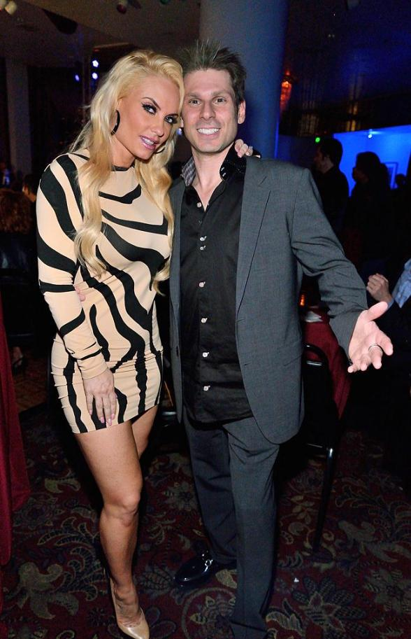 Mike Hammer with Nicole 'Coco' Austin