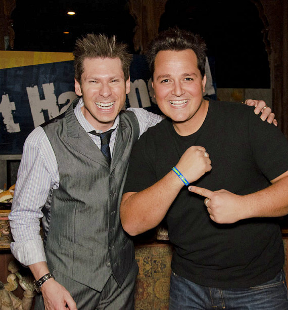 Mike Hammer and Michael Turco