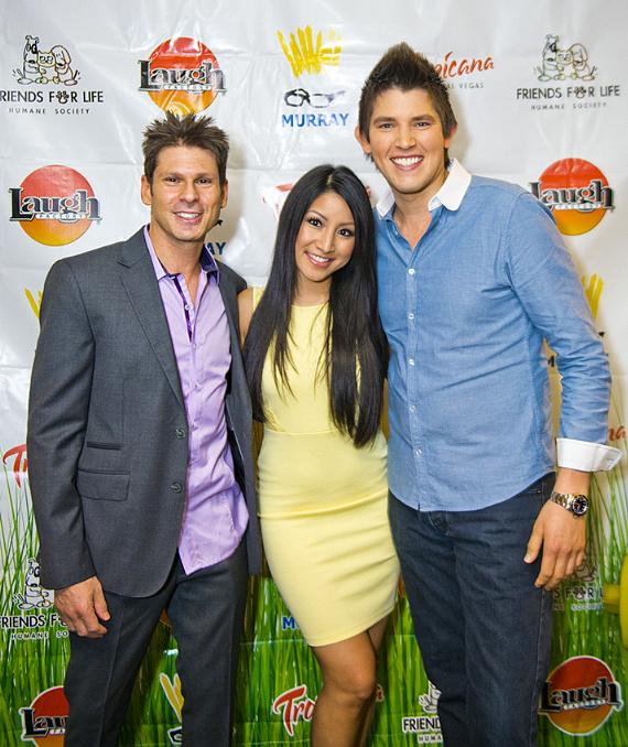 Mike Hammer, Jasmine Trias and Ben Stone