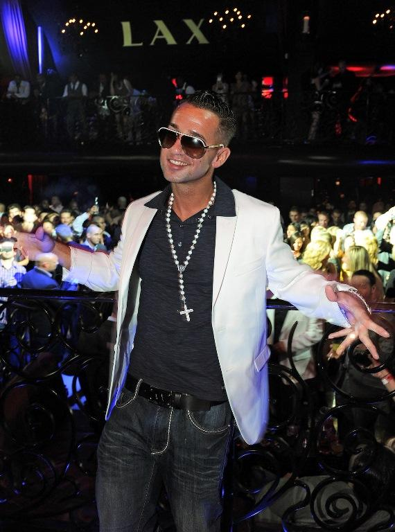 "Mike ""The Situation"" Sorrentino of Jersey Shore in LAX Nightclub"
