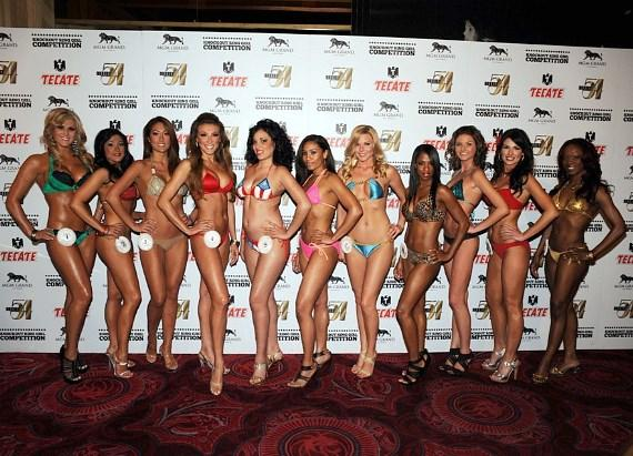 Miss Knockout 3rd Preliminary Contestants at Studio 54 Las Vegas
