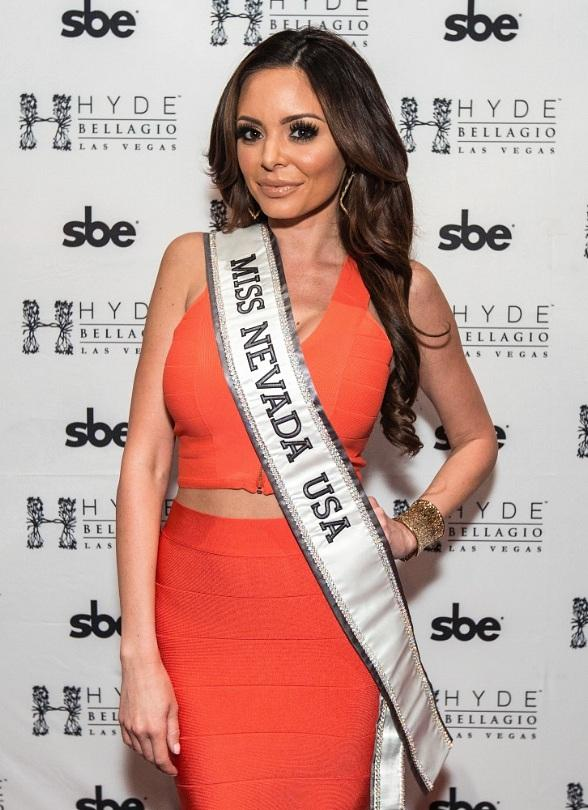 Miss Nevada Emelina Adams Hosts Miss USA Send Off Party at Hyde Bellagio
