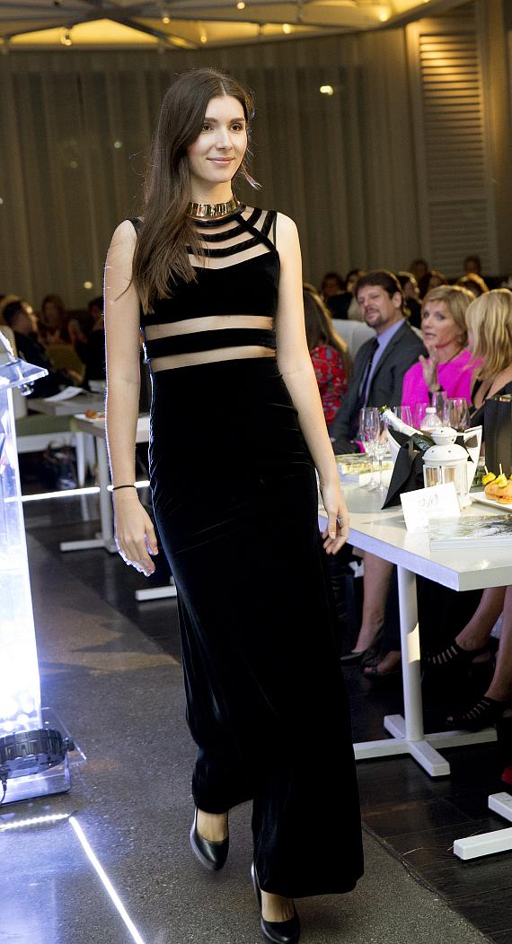 Model walks the runway at Style with a Cause