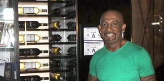 Montel Williams, Sports Stars and Models Dine at Martorano's at Paris Las Vegas