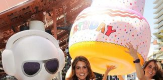 Nikki Reed at Marquee Dayclub