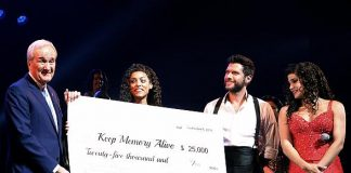 """On Your Feet"" Cast Donates $25,000 to Keep Memory Alive on Behalf of Emilio & Gloria Estefan"