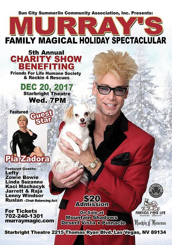 Murray's Annual Beggin' For Magic Charity Holiday Variety Show