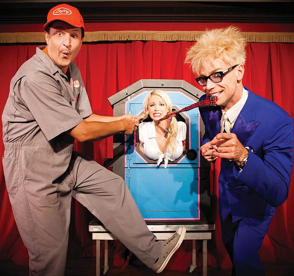 Lefty, Chloe and Murray return to the Laugh Factory at The Tropicana Las Vegas