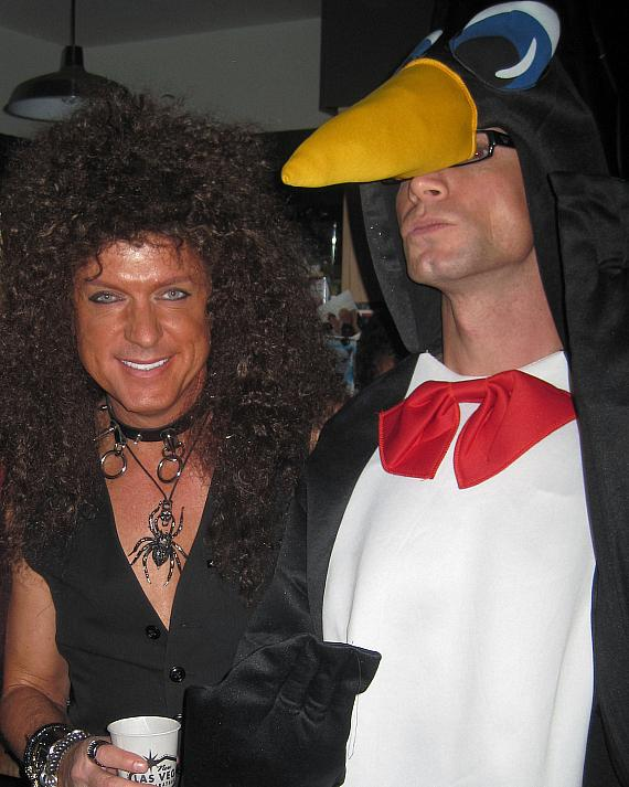 Zowie Bowie and Murray SawChuck