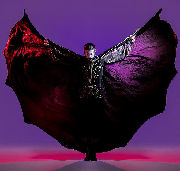 """Nevada Ballet Theatre Presents Ben Stevenson's Critically-Acclaimed and Full-Length Ballet """"Dracula"""" at The Smith Center for the Performing Arts Oct. 25-28"""
