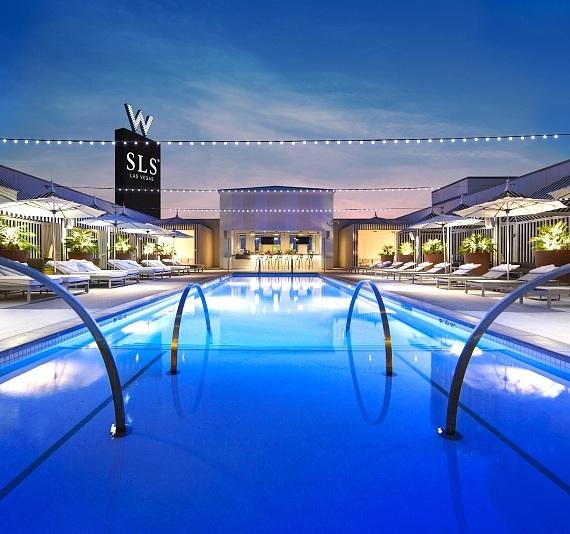 SLS Las Vegas Toasts Int'l Beer Day with Retro Pool Beer Fest and The Rockie Brown Band