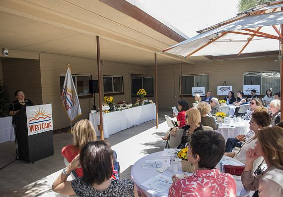 WestCare Nevada hosts a dedication event at the newly renovated Women and Children's Campus
