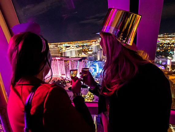 Count Down to 2016 from the World's Tallest Observation Wheel with the Best Views of the Las Vegas Strip