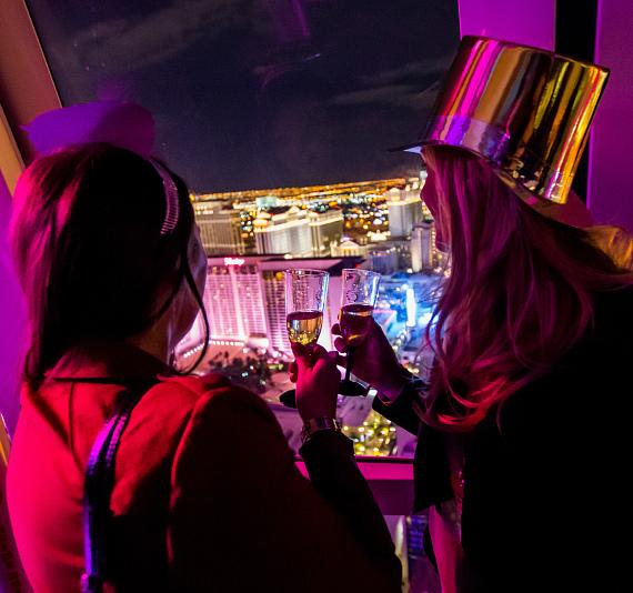 NYE 2015 on the High Roller