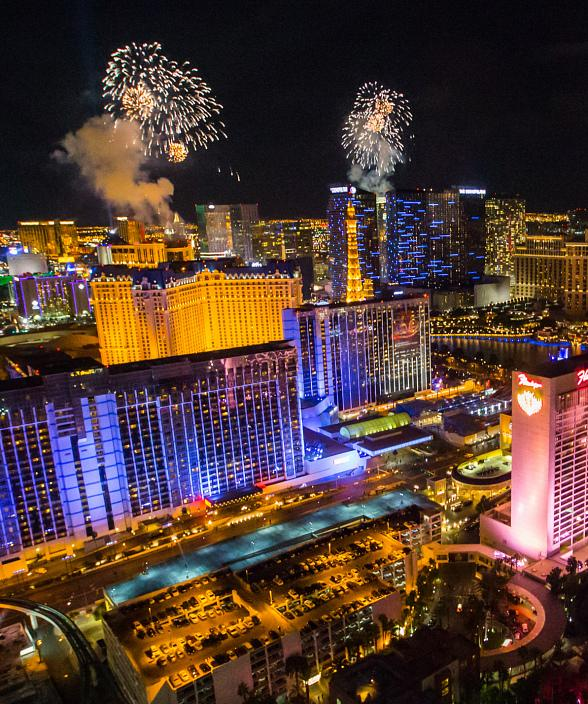 Count Down to 2016 with Best Views of Las Vegas from World's Tallest Observation Wheel
