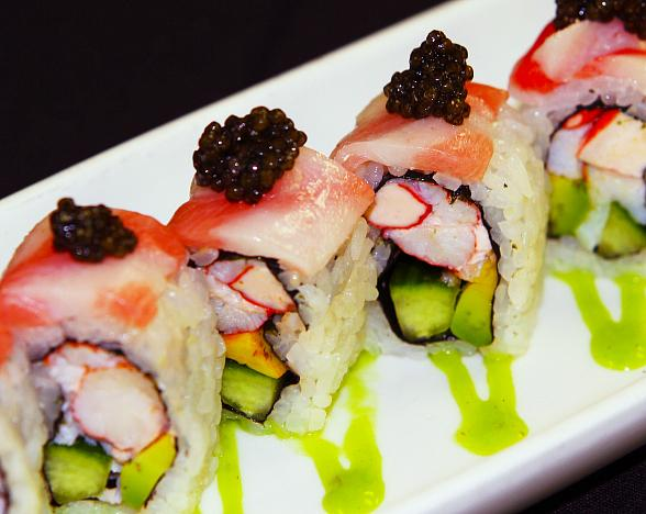 National Sushi Day Roll at TAO