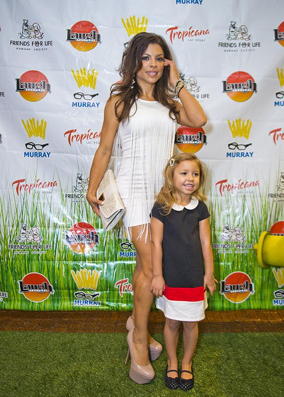 Nieve Malandra and daughter Gigi