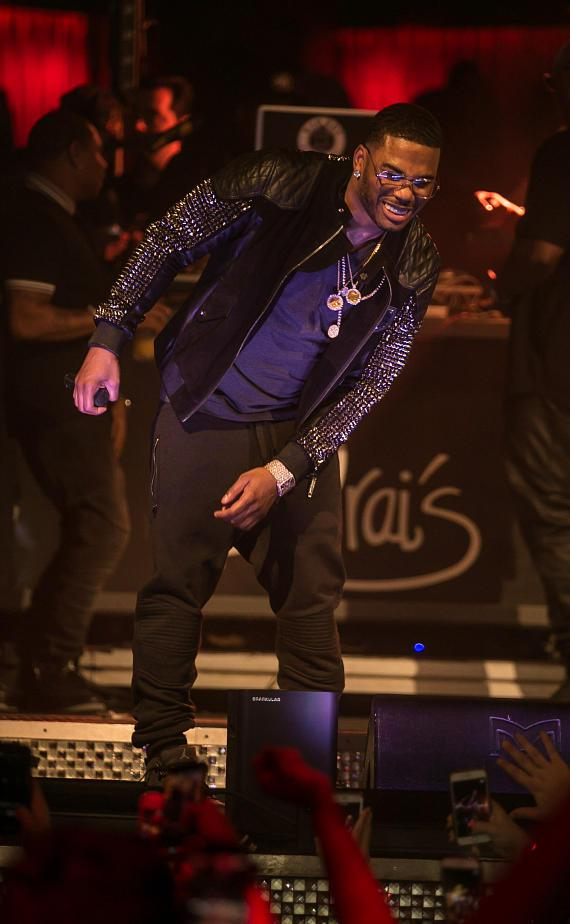 Nelly at Drais Nightclub Las Vegas