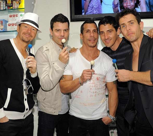 New Kids on the Block at Sugar Factory