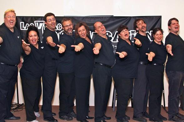 """Deck The Halls with Boughs of """"Folly"""" with The Las Vegas Improvisation Players Dec. 14"""