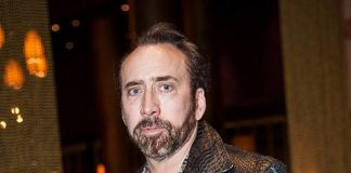Nicholas Cage Dines at Lao Sze Chuan at The Palms in Las Vegas