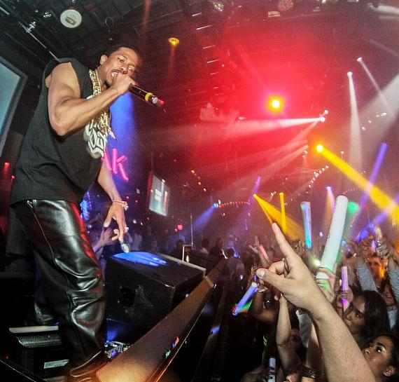Nick Cannon performs at 1 OAK at The Mirage on Tuesday, March 25