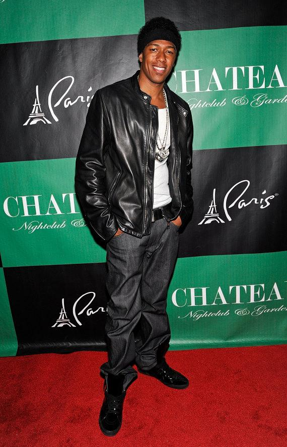 Nick Cannon in the DJ Booth at Chateau Nightclub