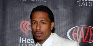 Nick Cannon at HAZE at ARIA for iHeart Radio party