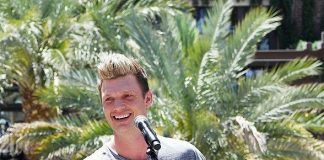 Nick Carter Performs Private Acoustic Set at Influence, The Pool at The LINQ in Las Vegas