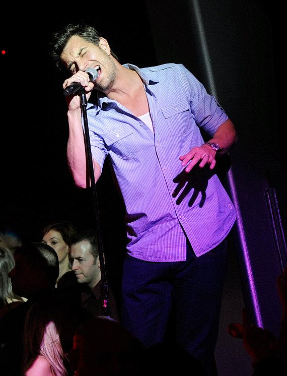 Nick Hexum performs at Chateau Nightclub & Gardens at Paris Las Vegas
