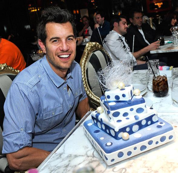 Nick Hexum with his hand-crafted cake at Sugar Factory American Brasserie at Paris Las Vegas