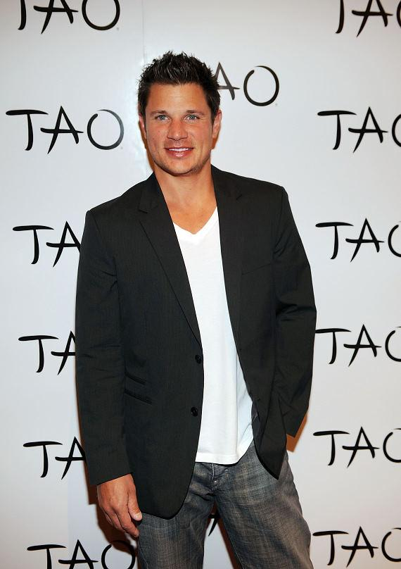 Nick and Drew Lachey at TAO