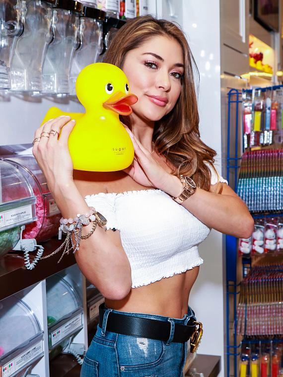 Arianny Celeste with Sugar Factory Duck