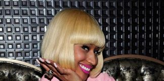 Nicki Minaj at her official Femme Fatal Tour after-party at Gallery Nightclub in Las Vegas