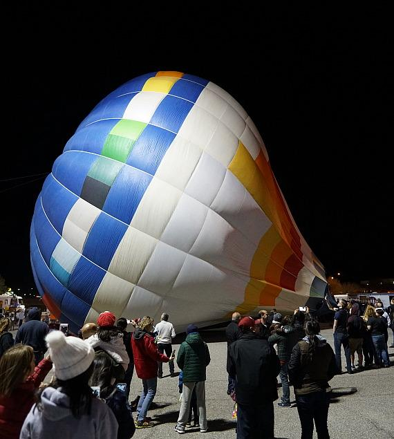 Hot Air Balloons Take Flight in Mesquite for the Eighth Annual Mesquite Balloon Festival