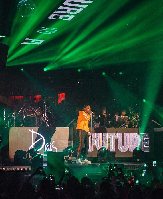 Future performs at Drai's Nightclub Las Vegas for 'Nobody Safe Tour' Official After-Party