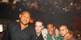 Omar Benson Miller, Eric Dlux and Friends at Marquee Nightclub