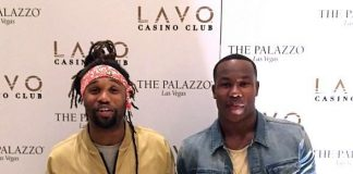 Club Chicago Bears safety Omar Bolden and Washington Redskins safety Duke Ihenacho spotted at LAVO