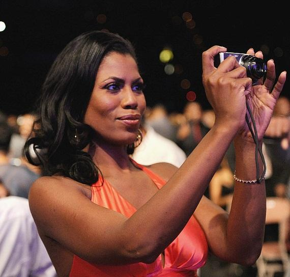 Omarosa the photographer at 2010 Hoodie Awards