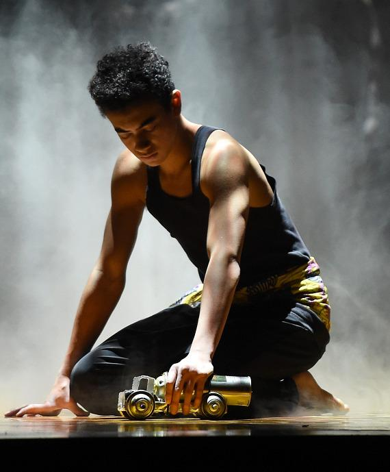 'One Night for One Drop' tells the tale of a boy in search of water