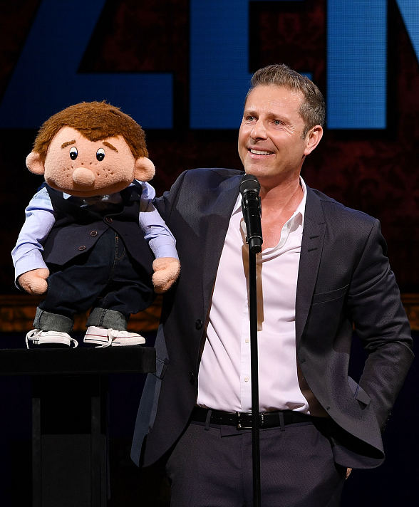 """""""Paul Zerdin: Mouthing Off"""" Grand Opening at Planet Hollywood attracts"""