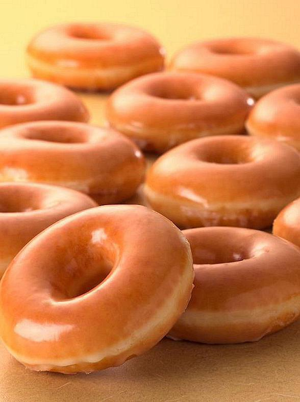 Original Glazed Doughnuts at Krispy Kreme