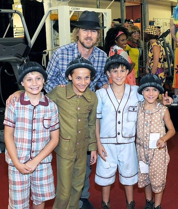"""Academy Award Nominated Actor Owen Wilson Spotted at """"The Beatles LOVE"""" by Cirque Du Soleil"""
