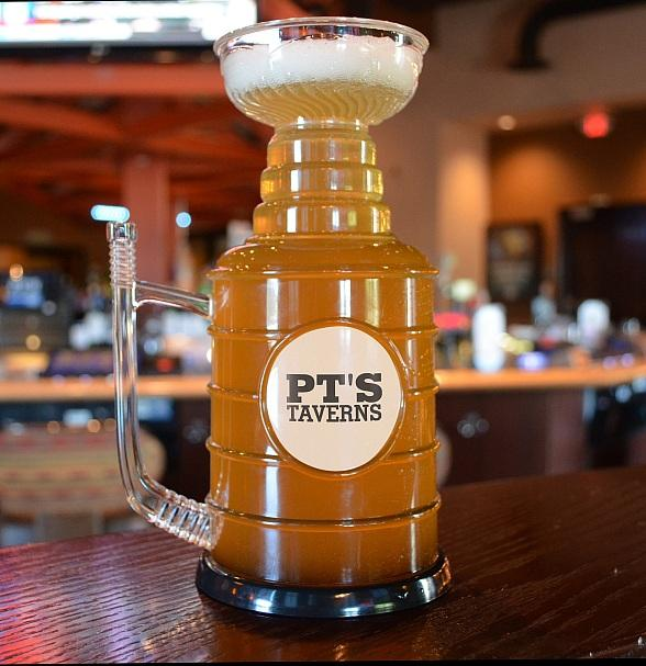 Drink Like a Stanley Cup Champion at PT's Entertainment Group Locations