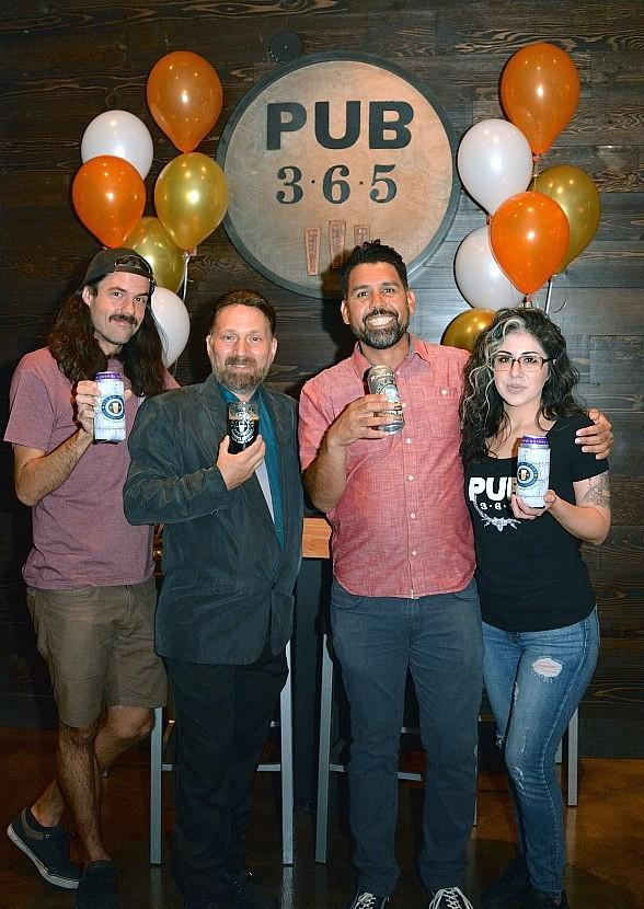 Pub 365 Celebrates First Person Ever to Drink Different 365 Beers with Special Tapping Party
