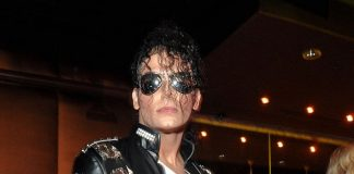 """Michael Jackson impersonator at PURE Nightclub's """"Back to the 80s"""""""