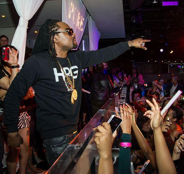 Hip-Hop Artist Wale Performs at PURE Nightclub for Skullcandy CES After-Party