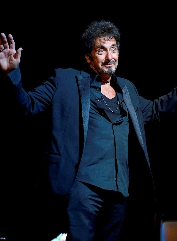 """Acting Legend Al Pacino Performs """"Pacino: One Night Only"""" at The Mirage in Las Vegas"""