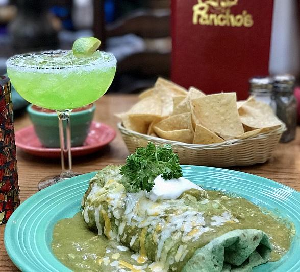 "Go Grande This St. Patrick's Day with Pancho's ""Greengo Burrito"""